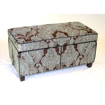 4D Concepts Paisley Ottoman
