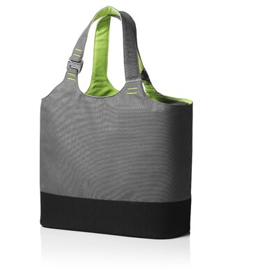Menu Cool Bag in Grey / Lime