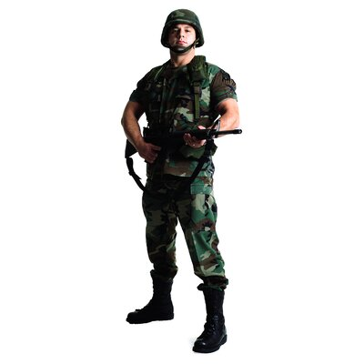 Advanced Graphics Army Soldier Life-Size Cardboard Stand-Up