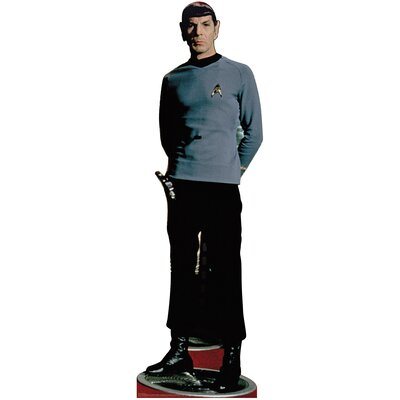 Advanced Graphics Spock Classic Cardboard Stand-Up