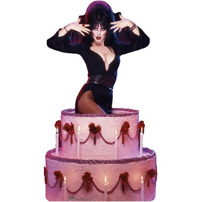 Advanced Graphics Elvira Cake Cardboard Stand-Up
