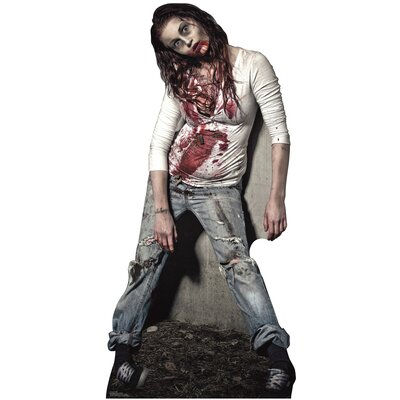 Advanced Graphics Zombie Girl Stand-Up