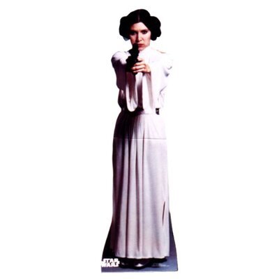 Princess Leia Organa Talking Cardboard Stand-Up