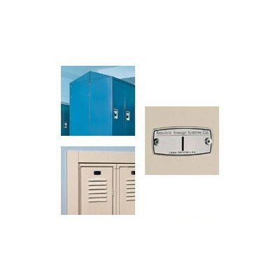 Republic Quick Ship: Standard Locker - Double Tier - 3 Sections (Unassembled)