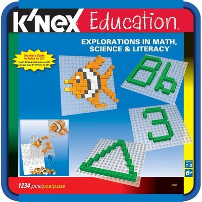 K'NEX Education Explorations in Math, Science and Literacy Building Set