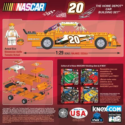K'NEX Home Depot Car Building Set
