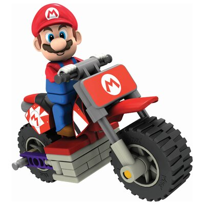 K'NEX Nintendo Mario and Standard Bike Building Set