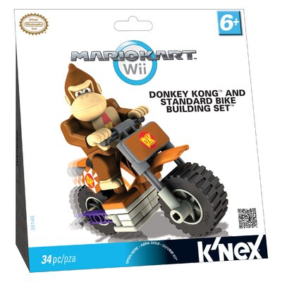 K'NEX Nintendo Donkey Kong and Standard Bike Building Set
