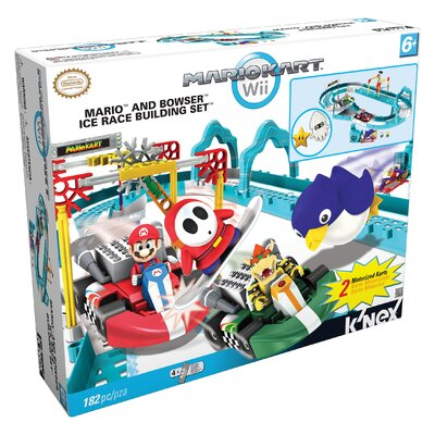 Nintendo Mario and Bowser's Ice Race Building Set