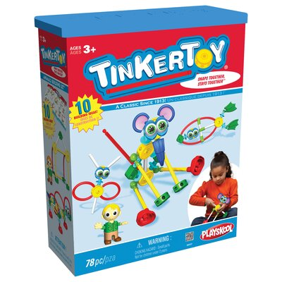 K'NEX Tinkertoy Animals Building Set