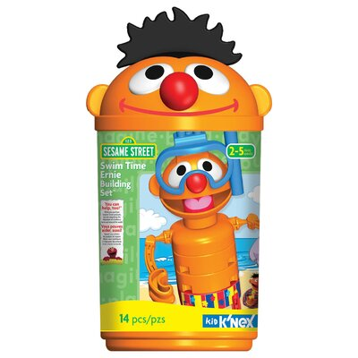 K'NEX Sesame Street Swim Time Ernie Building Set