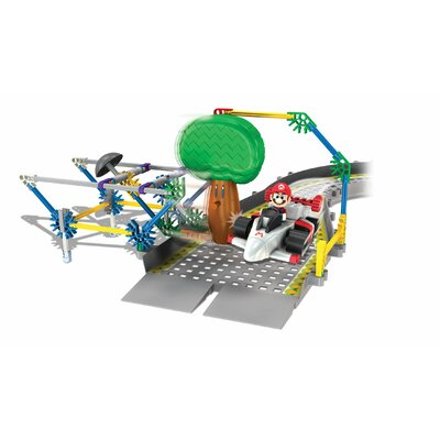 Mario Kart Wii Mario vs. Delfino Oak Tree Track Building Set