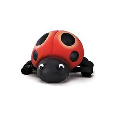 Premier Pet Squeeze Meeze Ladybug Dog Toy