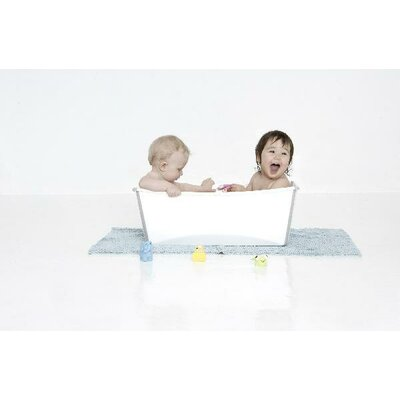 Prince Lionheart Flexi Bath Tub in White
