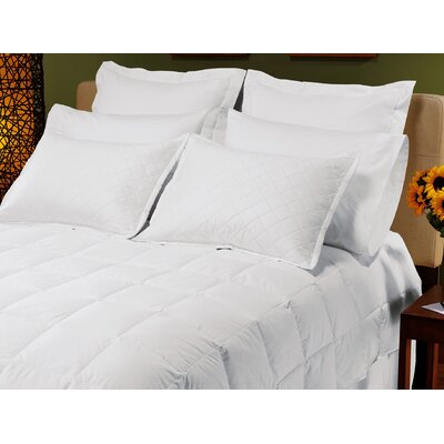 Down Inc. Sewn-Thru Boxstitch Standard Luxurelle Down Alternative Comforter