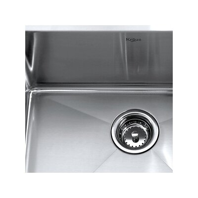 "Kraus 23"" x 18"" Undermount Kitchen Sink"