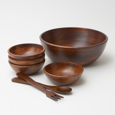 Woodard & Charles 7 Piece Salad Serving Set