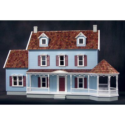Maple Hill Dollhouse in Milled MDF