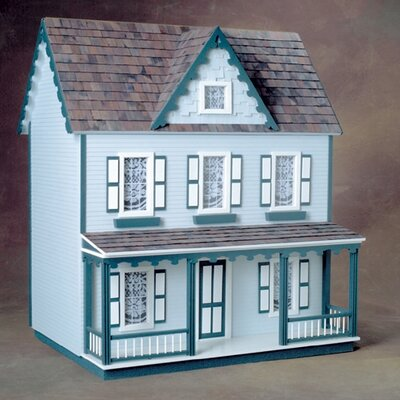 Front-Opening Vermont Farmhouse Jr. Dollhouse