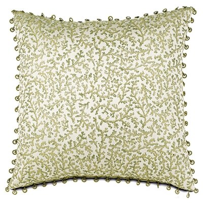 Lindsay Lewis Anise Pillow with Beaded Trim