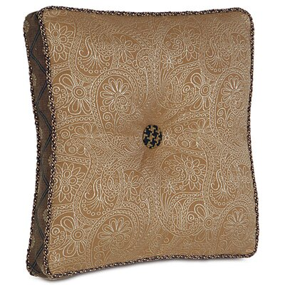 Aston Polyester Leinster Boxed and Tufted Decorative Pillow