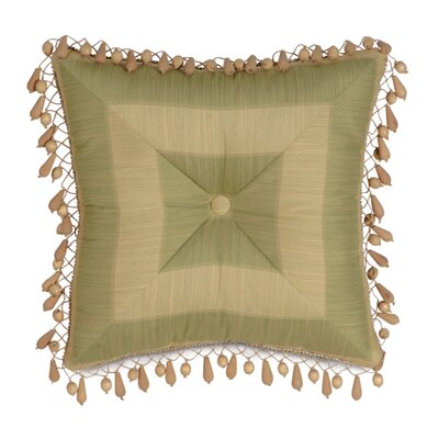 Eastern Accents Antigua Polyester Leeward Aloe Tufted Decorative Pillow