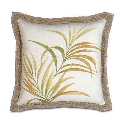 Eastern Accents Antigua Polyester Hand-Painted Square Decorative Pillow