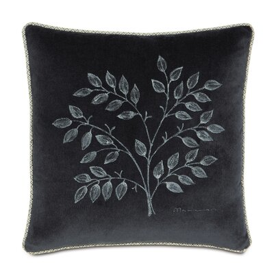 Caldwell Polyester Jackson Hand-Painted Decorative Pillow