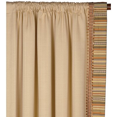 Eastern Accents Kiawah Folly Left Curtain Panel