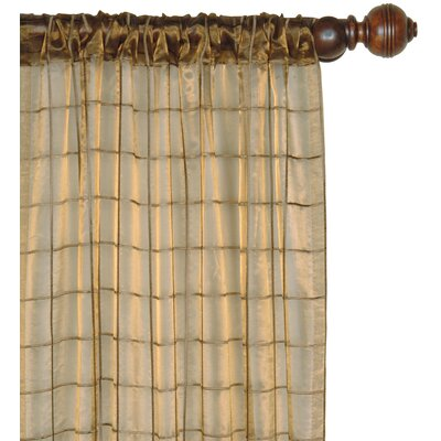 Eastern Accents Vaughan Veneta Cotton Rod Pocket Embroidered Sheer Curtain Single Panel