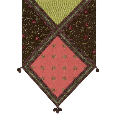 Tahiti Pindo Ends Table Runner