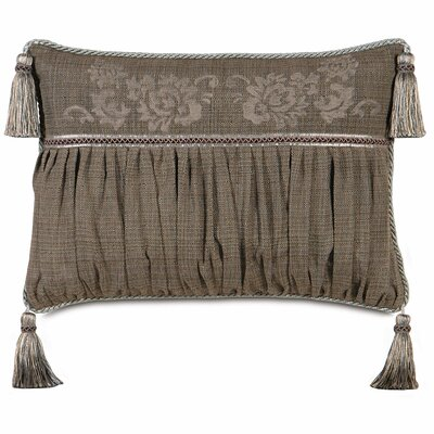Mica Farrow Polyester Block Printed Insert Decorative Pillow