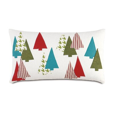 Eastern Accents North Pole Thru The Woods Decorative Pillow