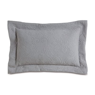 Sandrine Matelasse Cotton Boudoir Pillow