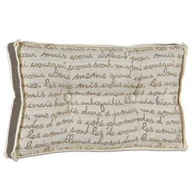 Eastern Accents Daphne Polyester Grenoble Boxed and Tufted Pillow