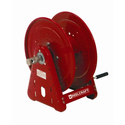 "Reelcraft 0.75"" x 100', 1000 psi, Handcrank Air / Water Reel without Hose"