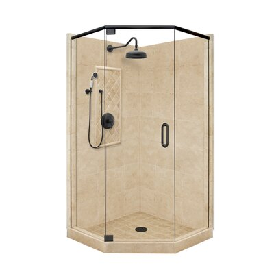 American Bath Factory Grand Neo-Angle Door Shower Enclosure