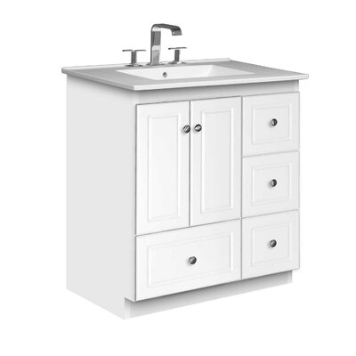 Strasser Woodenworks Simplicity 31&quot; Bathroom Vanity