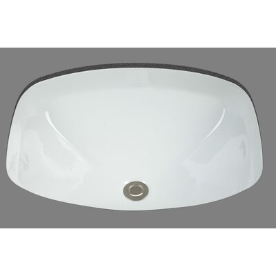 Bates & Bates Jessica Undermount Porcelain Bathroom Sink