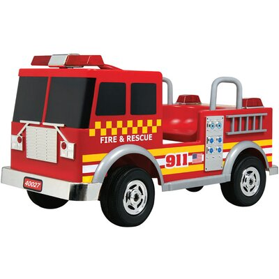 Big Toys Kalee Fire Truck 12V in Red