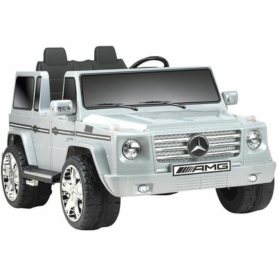 Big Toys Mercedes Benz G55 Truck 12V in Gray