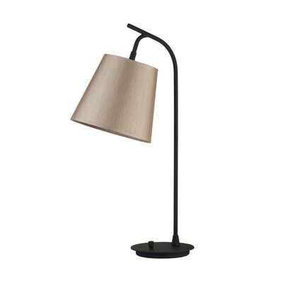 Lights Up! Walker Table Lamp in Powder Coated Black