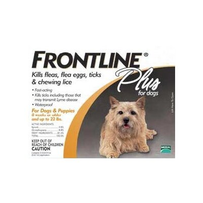 Frontline Plus Flea & Tick Medication For Dogs
