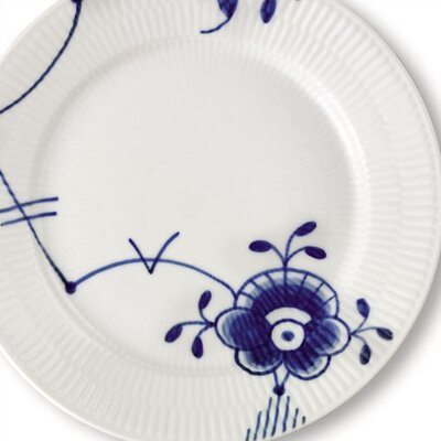 "Royal Copenhagen Blue Fluted Mega 8.75"" Lunch / Dessert Plate"