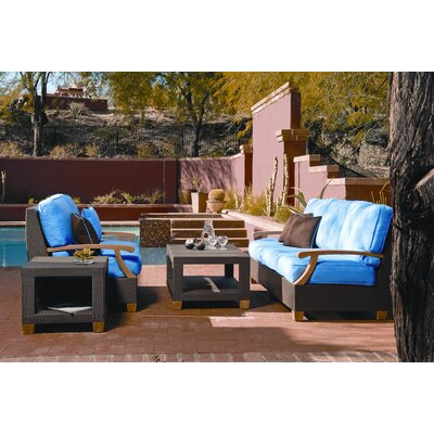 Three Birds Casual Ciera Deep Seating Group with Cushions