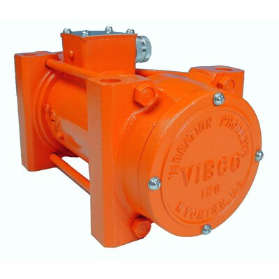 Vibco Lightweight 5 Amp High Frequency Vibrator with 115 Volt Single Phase Concrete Vibrator Motor