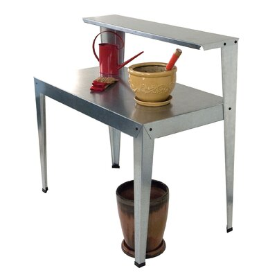 Poly-Tex Galvanized Steel Potting Bench