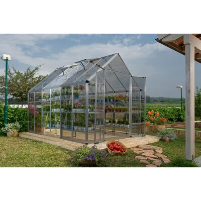 "Poly-Tex Snap & Grow 6"" x 4"" Extension Kit in Silver"
