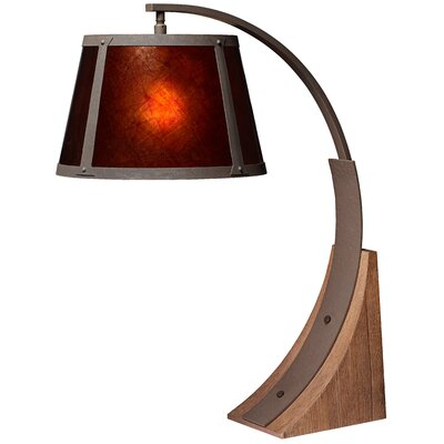 Pacific Coast Lighting Oak River Arc Table Lamp