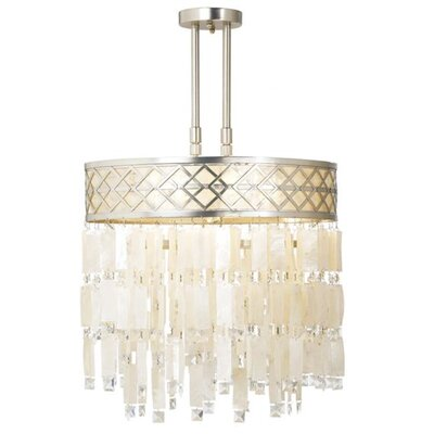 Pacific Coast Lighting Tahitian MoonLight 5 Light Chandelier